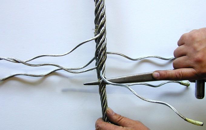 Edelstahl Seil Spleißen
